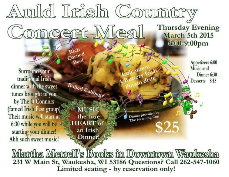 Irish Dinner Poster